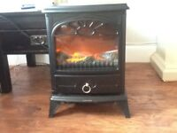 Electric stove effect fire
