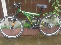 Universal bike practically new used 3 times £45 can deliver for petrol it is a universal bike