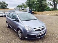 2006 Vauxhall Zafira 1.6**7 SEAT MPV**MOT 16/03/18**Full Ser History**2 Keys*2 OWNERS*AC*