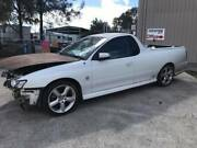 WRECCKING VY SS UTE AUTO COULSON SEATS 164851KMS WHITE Morisset Lake Macquarie Area Preview