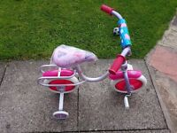 "10"" pepper pig training bike"