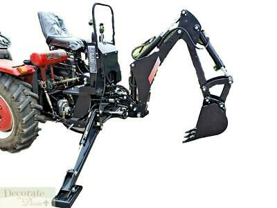 Backhoe Tractor Attachment Kubota Deere Bhm5600 3 Pt Pto Excavator Hydraulic New