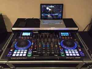 DENON MCX 8000 CONTROLLER + Roadcase & Led Lighting! Brooklyn Park West Torrens Area Preview