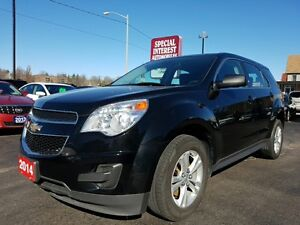 2014 Chevrolet Equinox LS LS !!! AWD !!! BLUE TOOTH !!! CRUIS...
