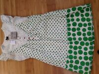 PEOPLE TREE FAIR TRADE DRESS-SMALL (SIZE 8/10). BRAND NEW WITH TAGS. NEVER BEEN WORN. £20