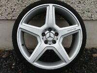 19INCH 5/112 MERCEDEZ AMG 447 ALLOY WHEELS WITH TYRES FIT AUDI VW SEAT ETC NO TEXTS PLEASE