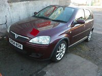 CORSA 04 VERY LOW MILEAGE 44k- SPARES OR REPAIRS