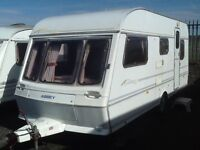 1994 abbey cararet 5 berth with double lounge