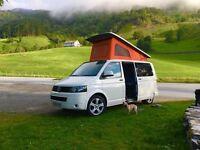 VW T5 102ps T28 Camper Van, Pop Top, 4 birth, SWB no VAT, Electric pack, Sat Nav