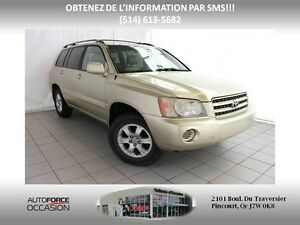 2003 Toyota Highlander LIMITED CUIR 4WD AUT AC TOUTE EQUIPE LEAT