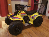Suzuki lt 50 quad 2 stroke very clean starts first time would px yamaha pw 50 or £500 blackpool.