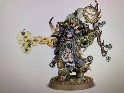 Warhammer 40,000 Chaos Space Marines Death Guard Malignant Plaguecaster