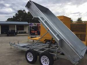10x6 Heavy Duty Tandem Galvanised Tipper Trailer Marion Area Preview
