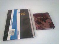 1 address book &1 pocket size excellent value for money brand new