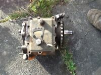 Harley J F or JD gearbox transmission vintage includes case & mainshaft gears