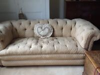 Beautiful old button backed chesterfield sofa