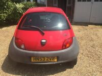 FORD KA. 12 MONTHS MOT. GREAT FIRST CAR. LOW MILEAGE AND LOW INSURANCE