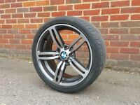 18 inch Bmw M6 Type Alloy Wheels and Tyres..(fit E36,E46,Mv2,E34,1 series,bbs,m3