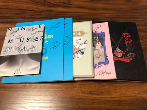 NINE MUSES[9MUSES] - ALL MEMBER Autograph(Signed) PROMO ALBUM