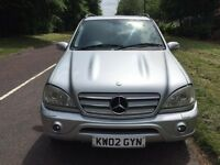 MAY PX MERCEDES ML55 AMG 5 6 7 seater GETTING RARE NOW COLLECTORS CAR