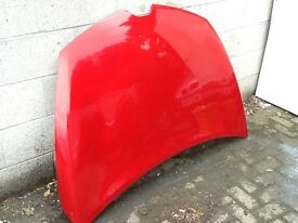 Renault Clio bonnet,slight damage