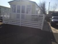 Luxurious caravan to rent in Towyn North Wales