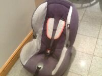 Maxi Cosi Priori group 1 car seat for 9kg upto 18kg(9mths to 4yrs),reclines ,washed and cleaned