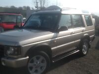 Land Rover discovery TD5 ES 7 SEATER