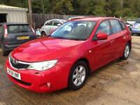 ** NEWTON CARS ** 08 58 SUBARU IMPREZA 1.5 RX AWD, 5 DOOR, 70,000 MLS, HIGH/LOW GEAR, MOT DEC 2018