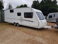Swift Charisma 590 6 berth caravan 2009 FIXED BUNK BED, Twin Axle BARGAIN !