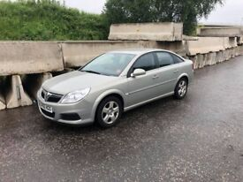 2006 Vauxhall Vectra Exclusiv 1.8 Petrol with only 75k