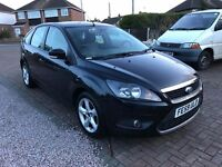 Ford Focus Zetec 1.6 TDCI 2009 plate full service history