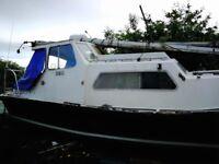 24ft Motorsailor yacht, sailing boat