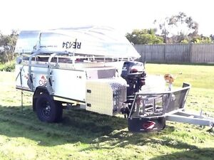 CUB 2015 Supamatic Escape Off Road LE with Boat Loader, boat,etc Berwick Casey Area Preview