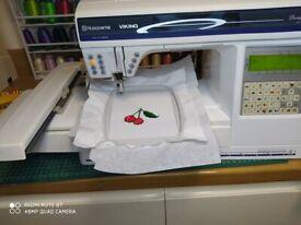 Husqvarna Viking DESIGNER II 2 Embroidery and sewing machine