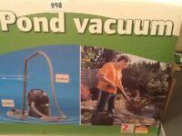 Pontic pond vacuum