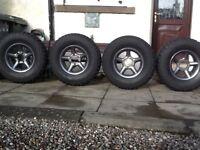 4x4 alloy wheels & tyres