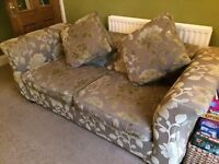 Sofa Bed Excellent Condition - used only twice as a bed. Bought DFS sage green colour.
