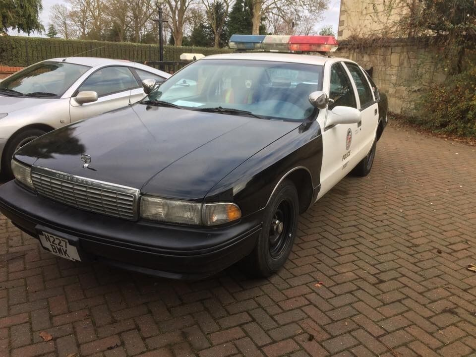 1996 chevrolet caprice lapd police car for sale in march cambridgeshire gumtree. Black Bedroom Furniture Sets. Home Design Ideas