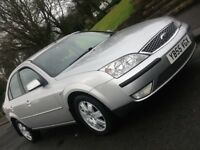 2006 FORD MONDEO 2.0 ZETEC TDCI 130 IN SHOWROOM CONDITION WITH FULL LEATHER