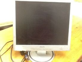 Philips monitor - sold as used £5