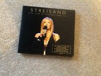 Excellent condition Barbra Streisand double cd