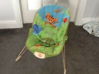 Fisher price baby bouncer, excellent condition, clean smoke and pet free home