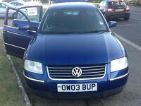 2003 Volkswagen Passat 1.9tdi sport..10 mths mot,ser/ history,alloys,6 cd loader,clean in & out,ac