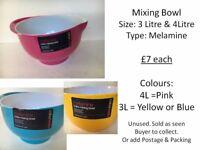 Mixing Bowl 3 Litre & 4 Litre - MELAMINE
