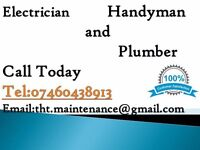 PLUMBER AND ELECTRICIAN QUALIFIED WITH FREE ESTIMATE