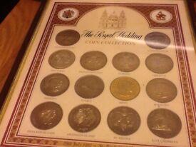 The royal wedding coin collection