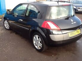 2004 RENAULT MEGANE DYN---AUG 2017 MOT---PX TO CLEAR