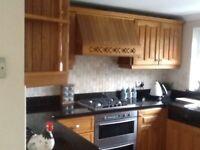 Solid oak Kitchen cupboard doors & trim