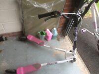 Sporter Pink Fliker Scooter